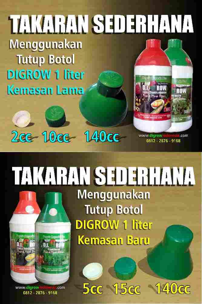 Takaran Sederhana Botol 1 Liter